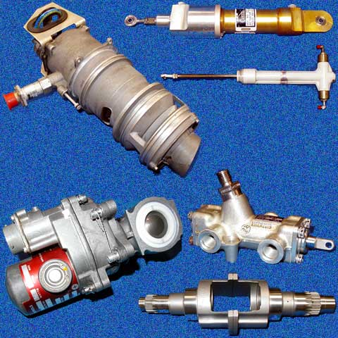 Hydraulic, fuel and electro-mechanical accessories
