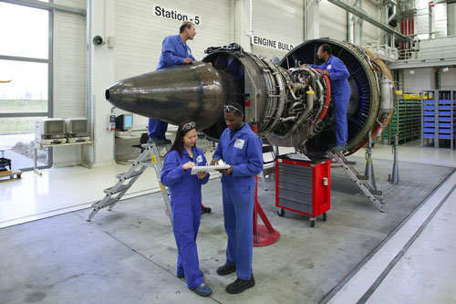 repair and overhaul mro of commercial aircraft engines marine and